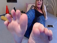 My Sweaty Foot Fetish