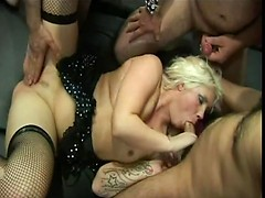 Kim & Mandy Gangbang Party 1 Pt4