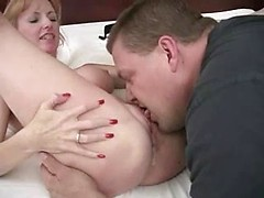 Busty amateur wife in hardcore interracial cuckold fuck and cleanout
