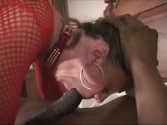 Married woman bred by black cock in an interracial creampie hardcore video