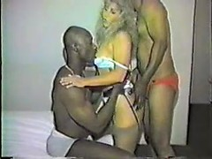 Mindblowing cuckold interracial fuck with my nasty wife double fucked