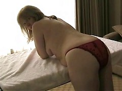 Curvy masturbating girlfriend invites her boyfriend into her hot amateur pussy